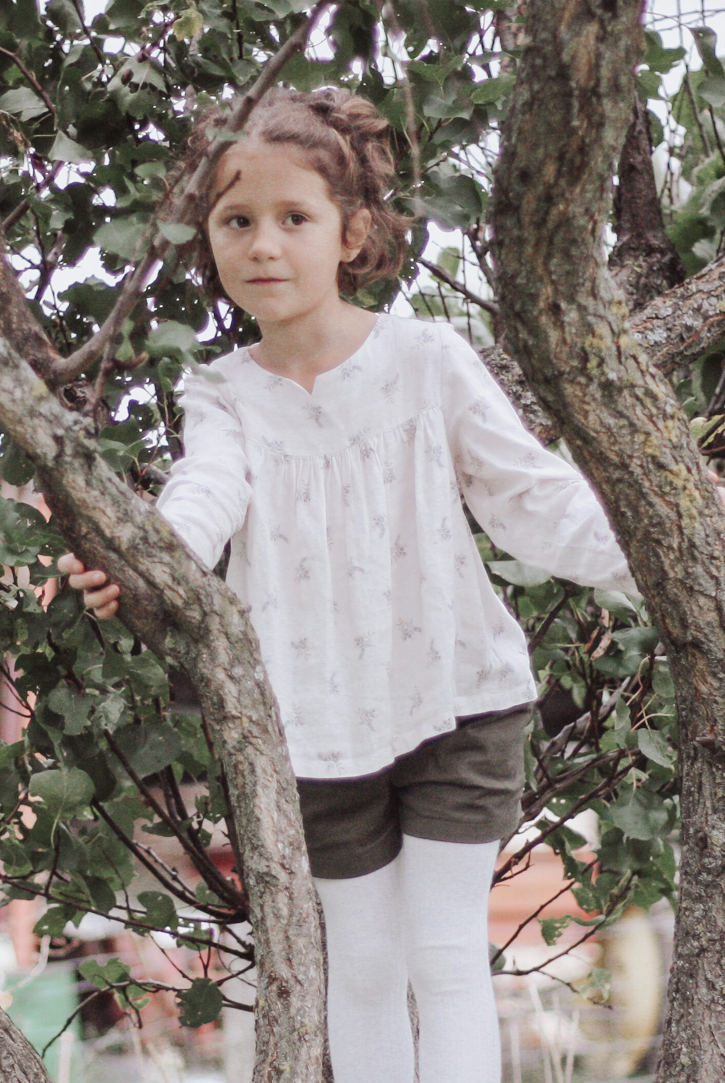 Blouse Lombarde fleurie